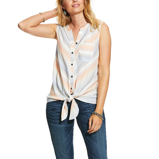 womens ariat sleeveless shirt