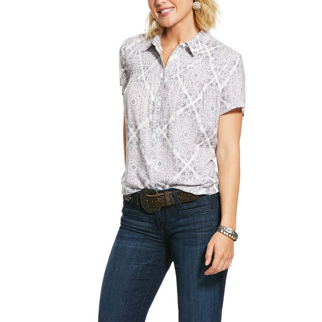 ariat women's button up