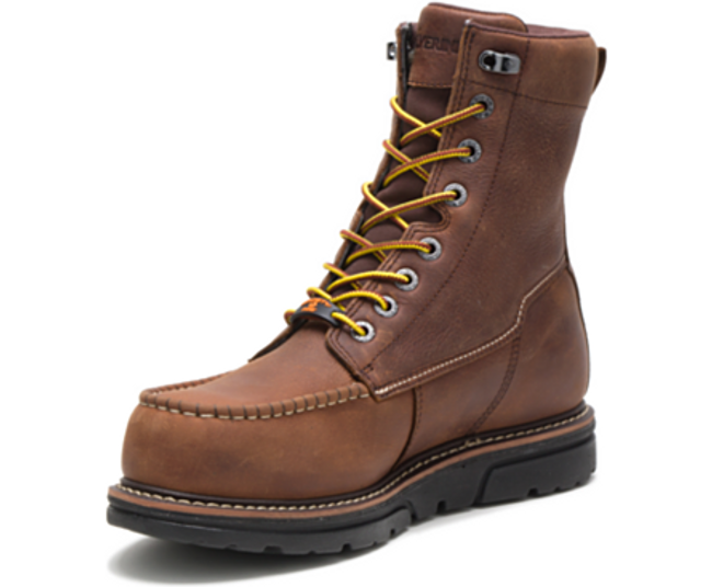 wolverine wedge sole boots