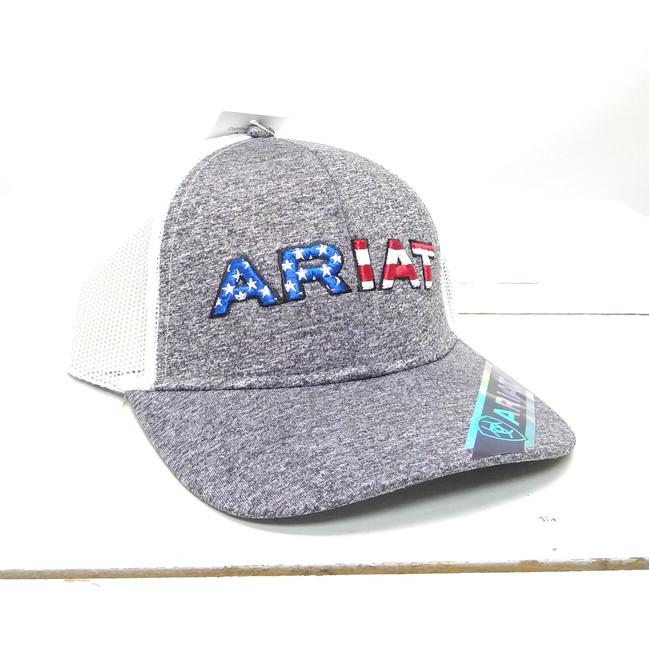 ariat american flag hat