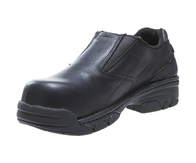 Black Slip On Work Shoe by Wolverine