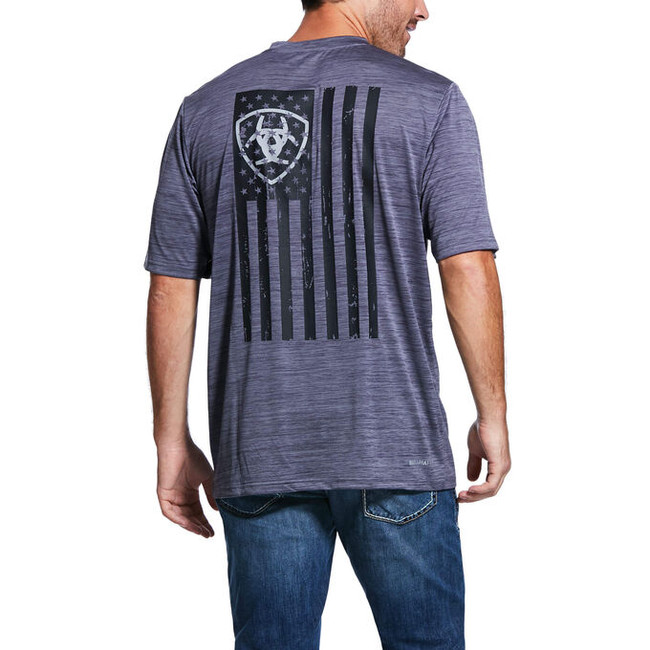 ariat flag shirt