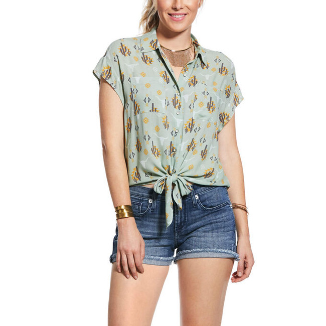 woman's cactus shirt