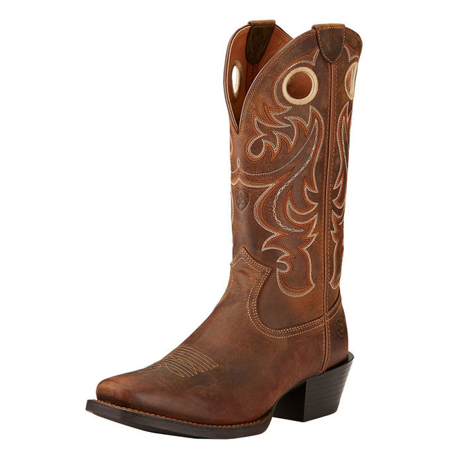 Brown Cowboy Boot by Ariat