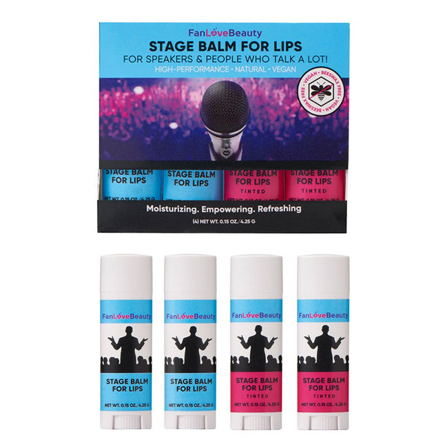 Stage Lip Balm 4 Pack