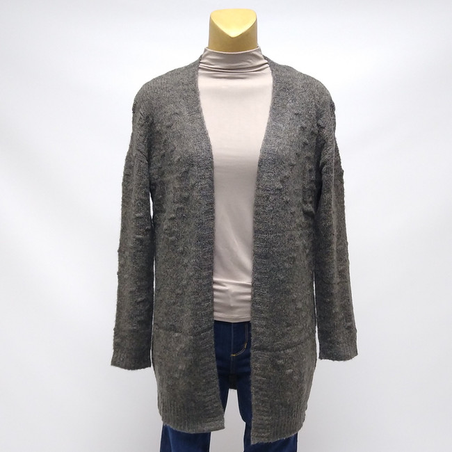 grey womens cardigan