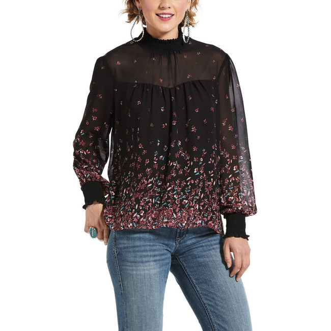 womens flower tunic