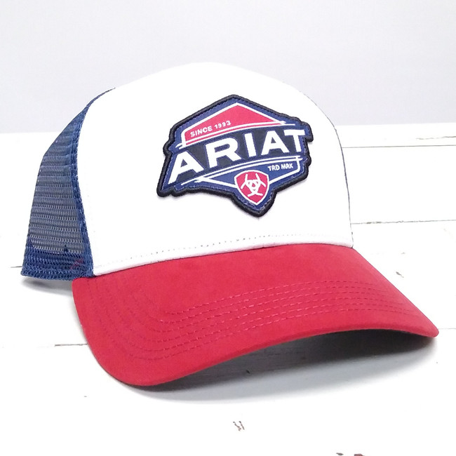 ariat snapback cap