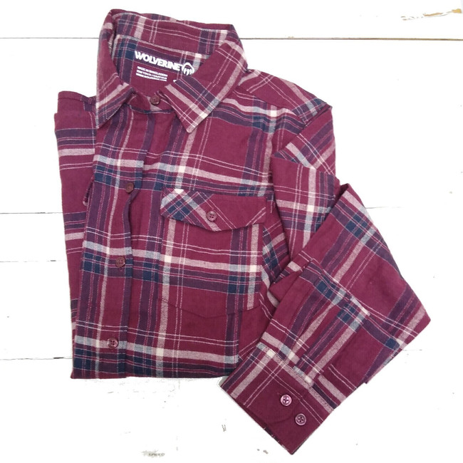 women's work flannel