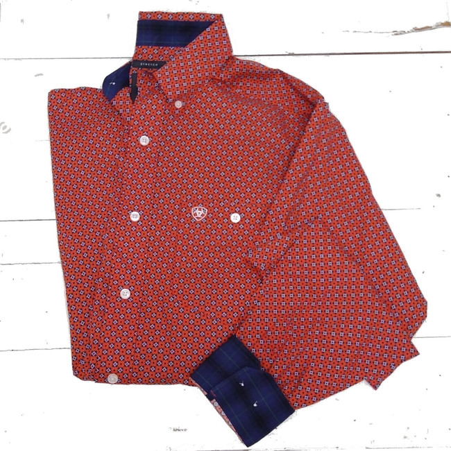 ariat fitted shirts