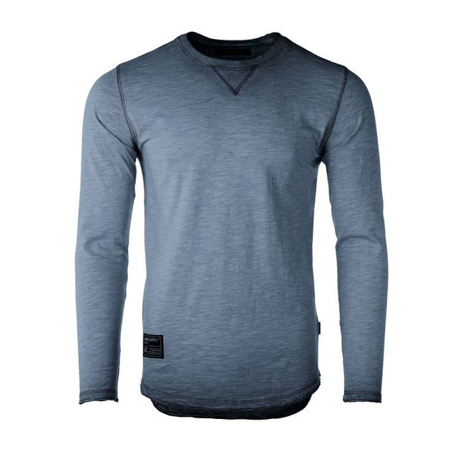 mens faded raglan shirt