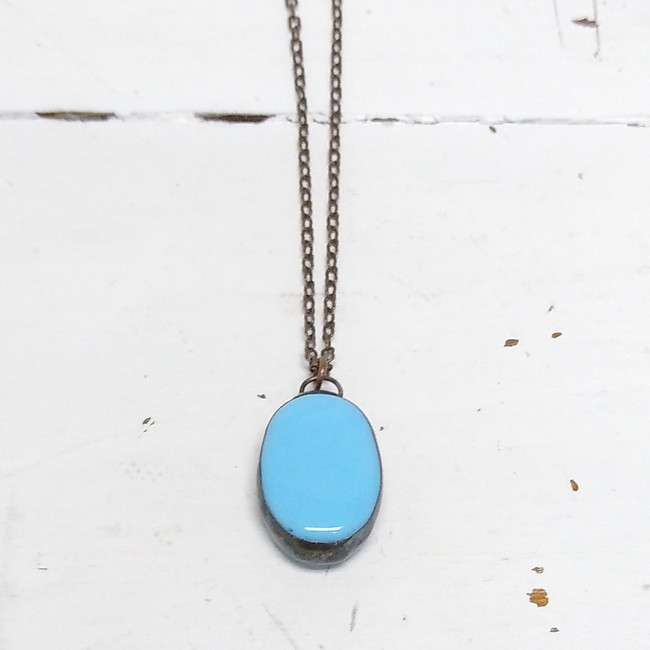 lucite necklace
