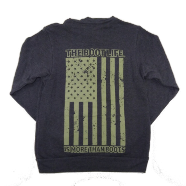 mens flag sweatshirt