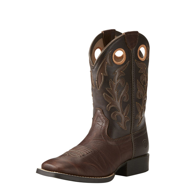 Kid's Brown Cowboy Boot by Ariat