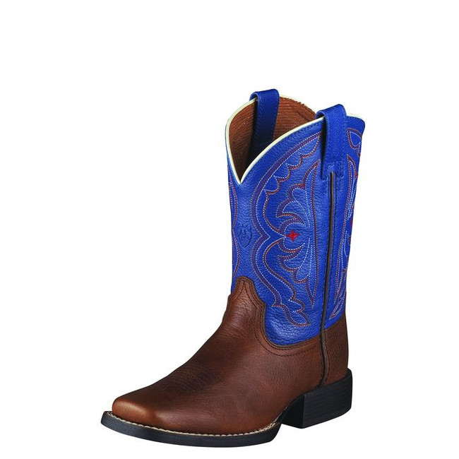 Kid's Red, White & Blue Cowboy Boots by Ariat