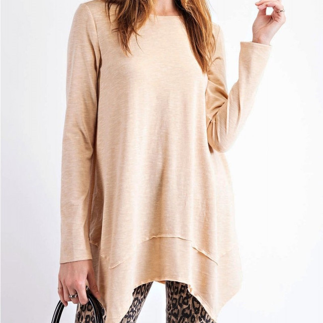womens long sleeve tunic