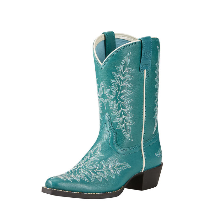 Kids' Turquoise Blue Cowgirl Boot by Ariat