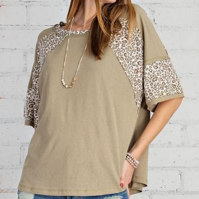 womens leopard print shirt
