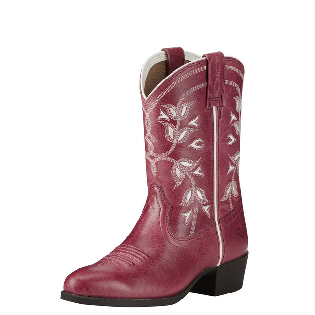 Kid's Pink Cowgirl Boot by Ariat