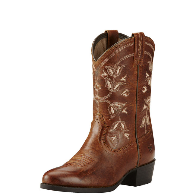 Kid's Brown Cowgirl Boot  by Ariat