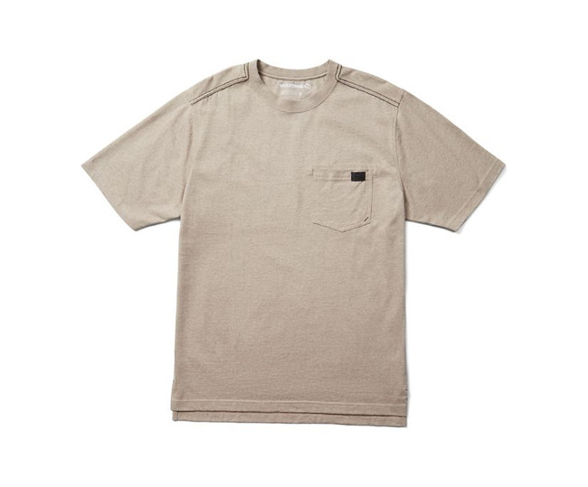 tan pocket tee