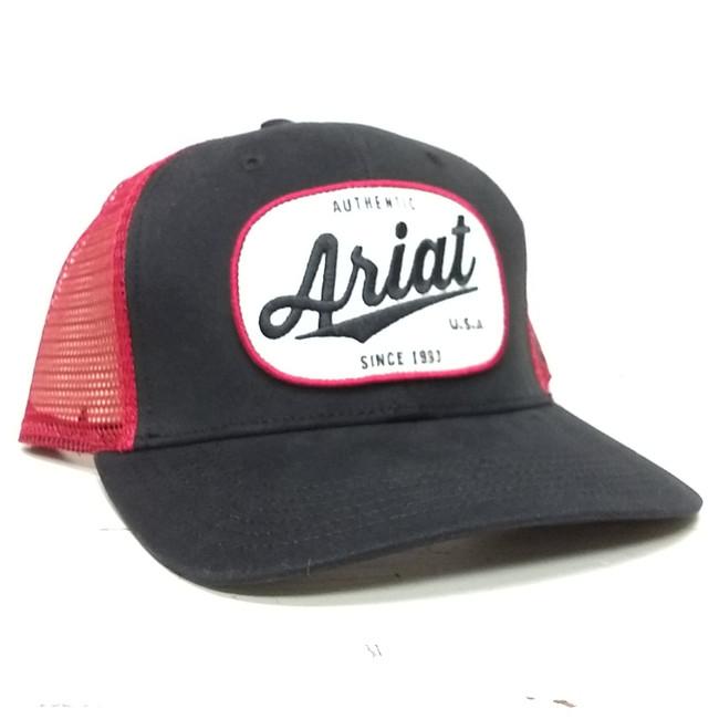 Ariat patch hat