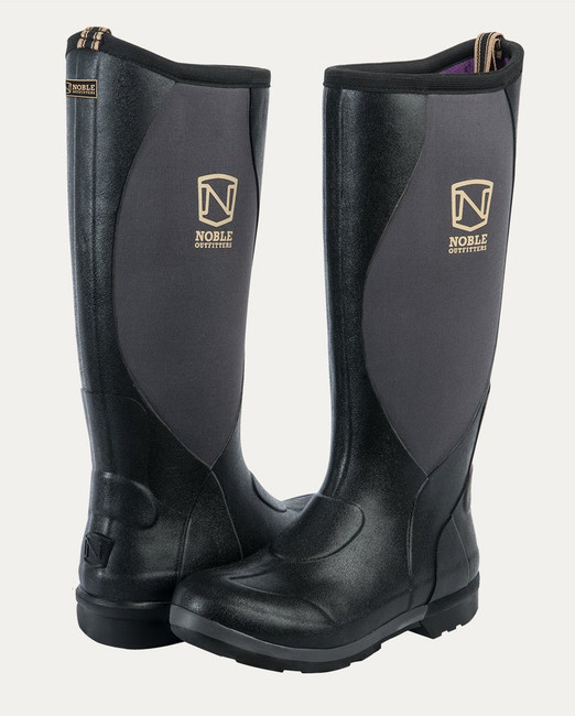 MUDS Stay Cool Women's High Boot in Black from Noble Outfitters