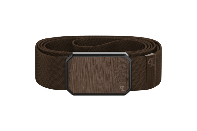 Groove Belt Walnut/Brown O/S