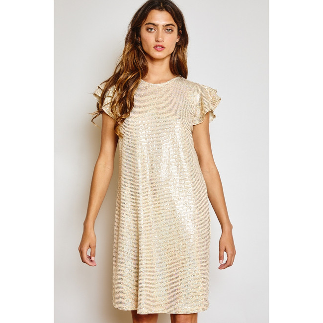 Confetti Dot Sequins Dress