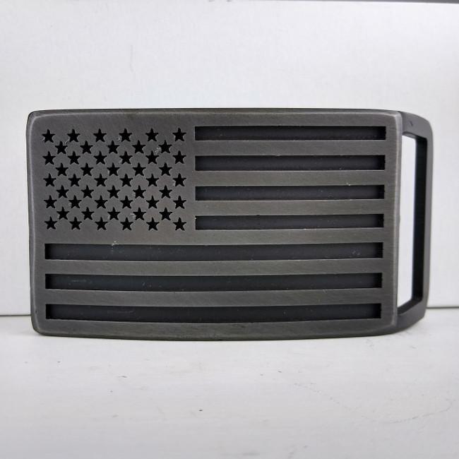 flag belt buckle