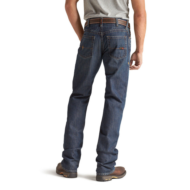Shale FR M4 Relaxed Fit Low Rise Boot Cut Jeans by Ariat
