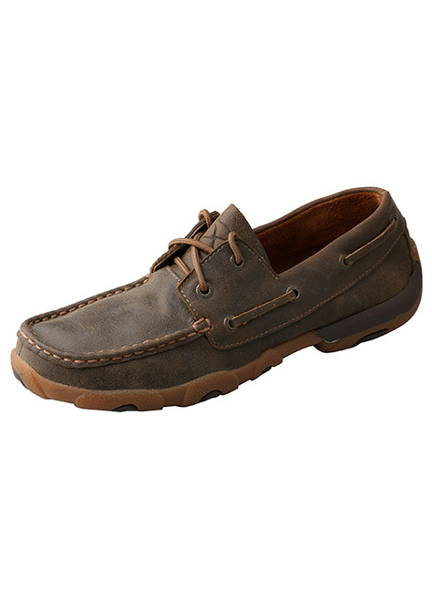 Women's Brown Driving Moc by Twisted X