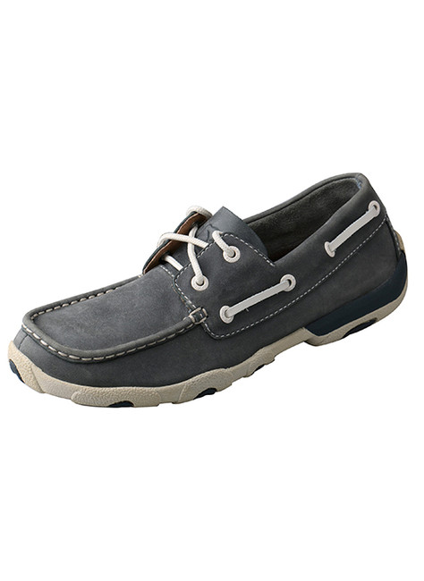 Women's Blue Driving Moc by Twisted X