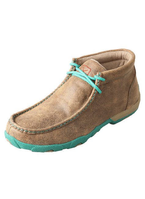Turquoise Driving Moc by Twisted X