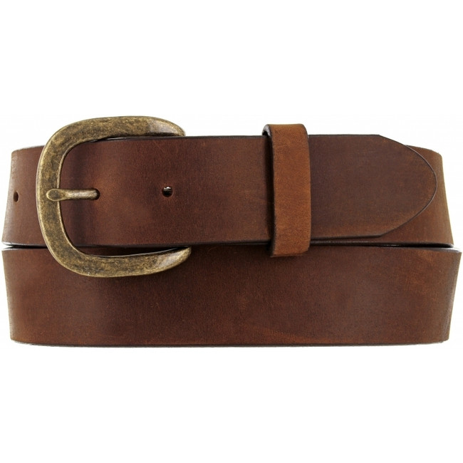 Justin Basic Work Belt in Brown