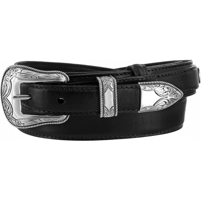Black Ridgepoint Ranger Belt by Justin