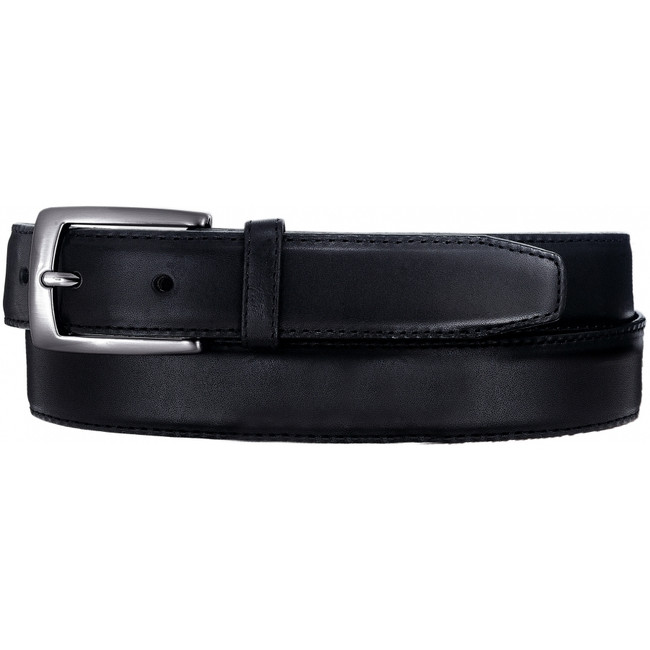 Norton Black Dress Belt by Leegin