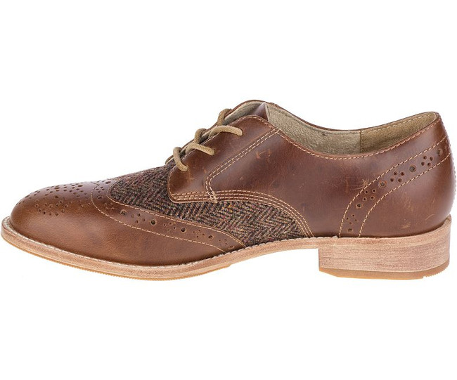 Brown Oxford Wingtip by CAT