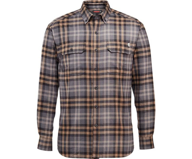 Granite Plaid Flannel Shirt by Wolverine
