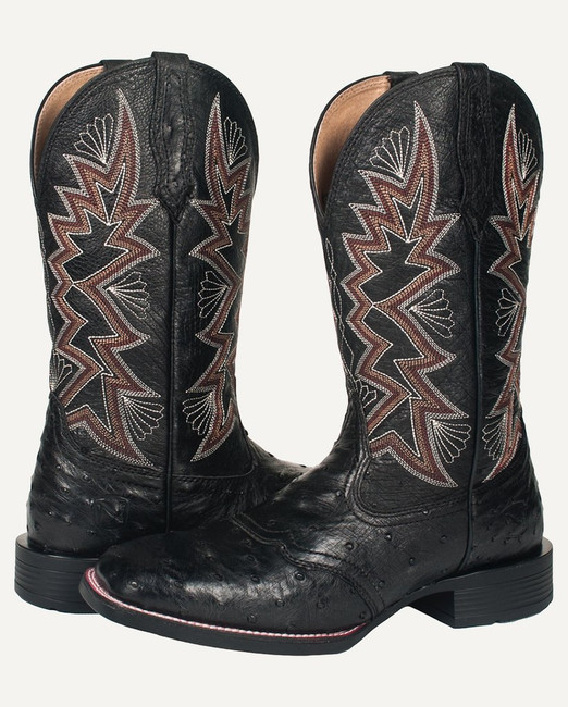 bd13a6cada6 All Around Square Toe Duke Black.  299.95. Pick Options. Quick View · Full Quill  Ostrich Boots