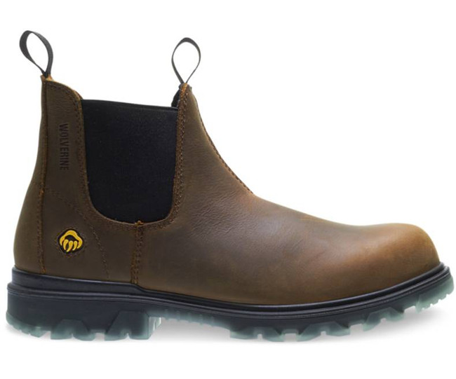 chukka steel toe boot