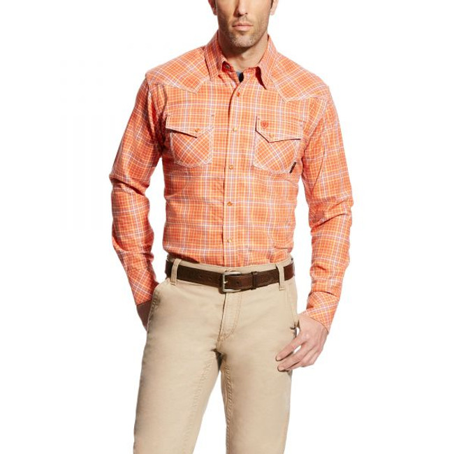 ariat fr snap shirt