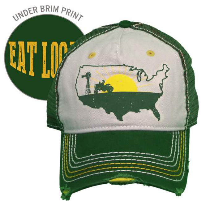 eat local hat