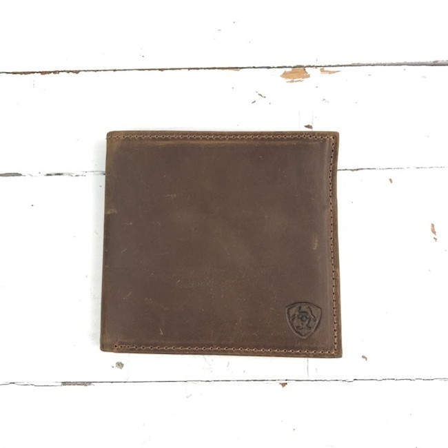 ariat bi-fold wallet