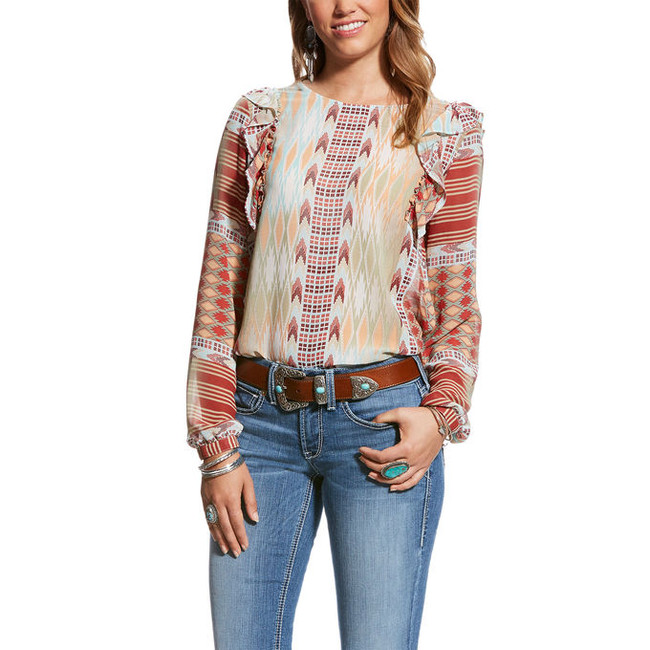 ariat womens tops