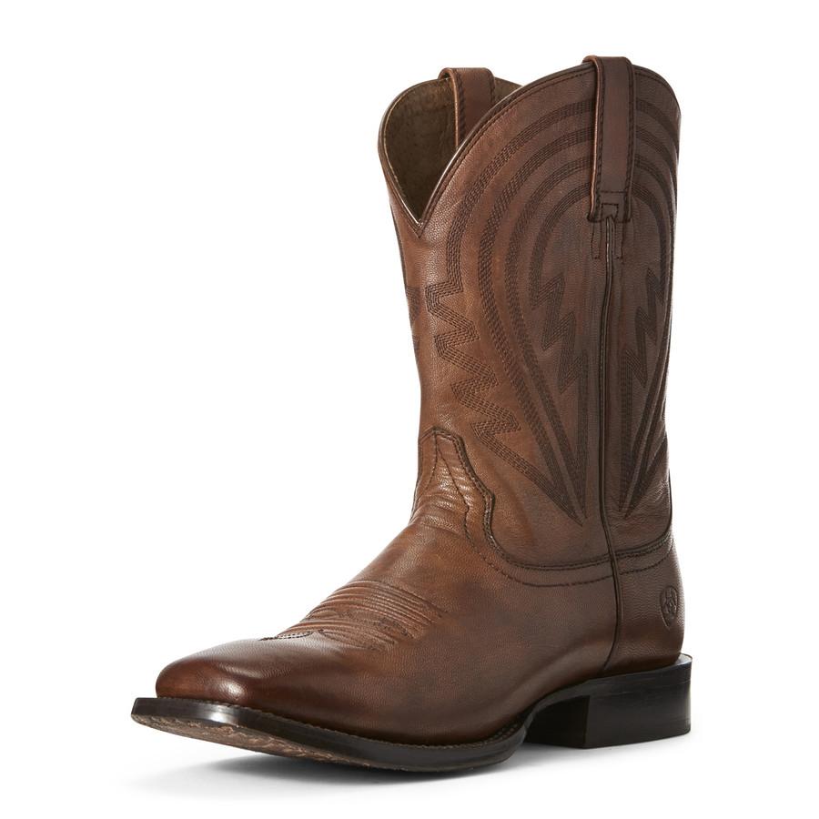 men's ariat square toe boots