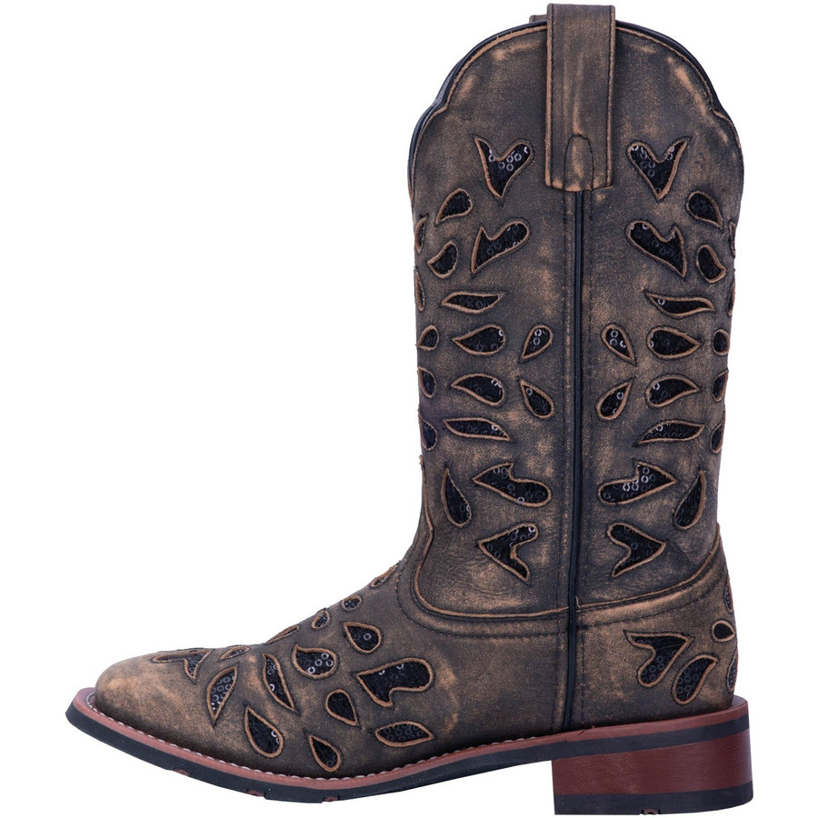 sequin cowboy boots