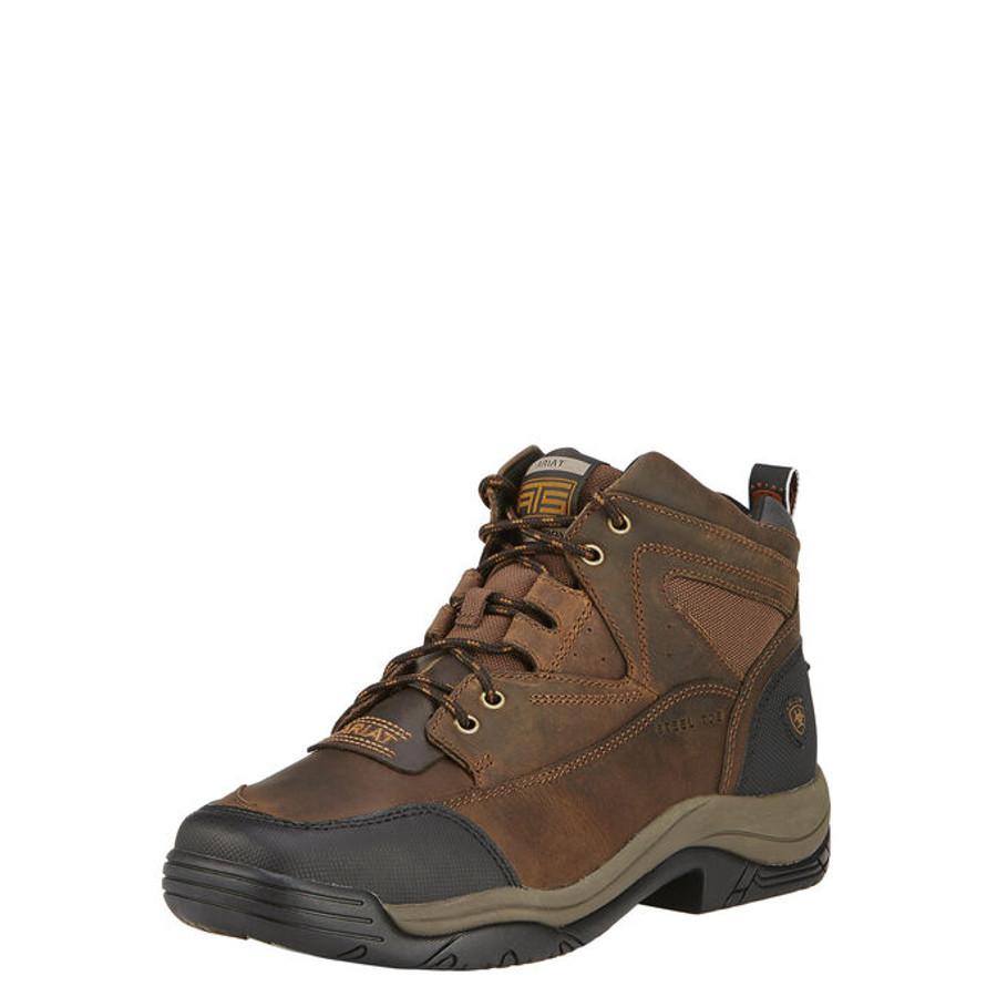 ariat terrain steel toe