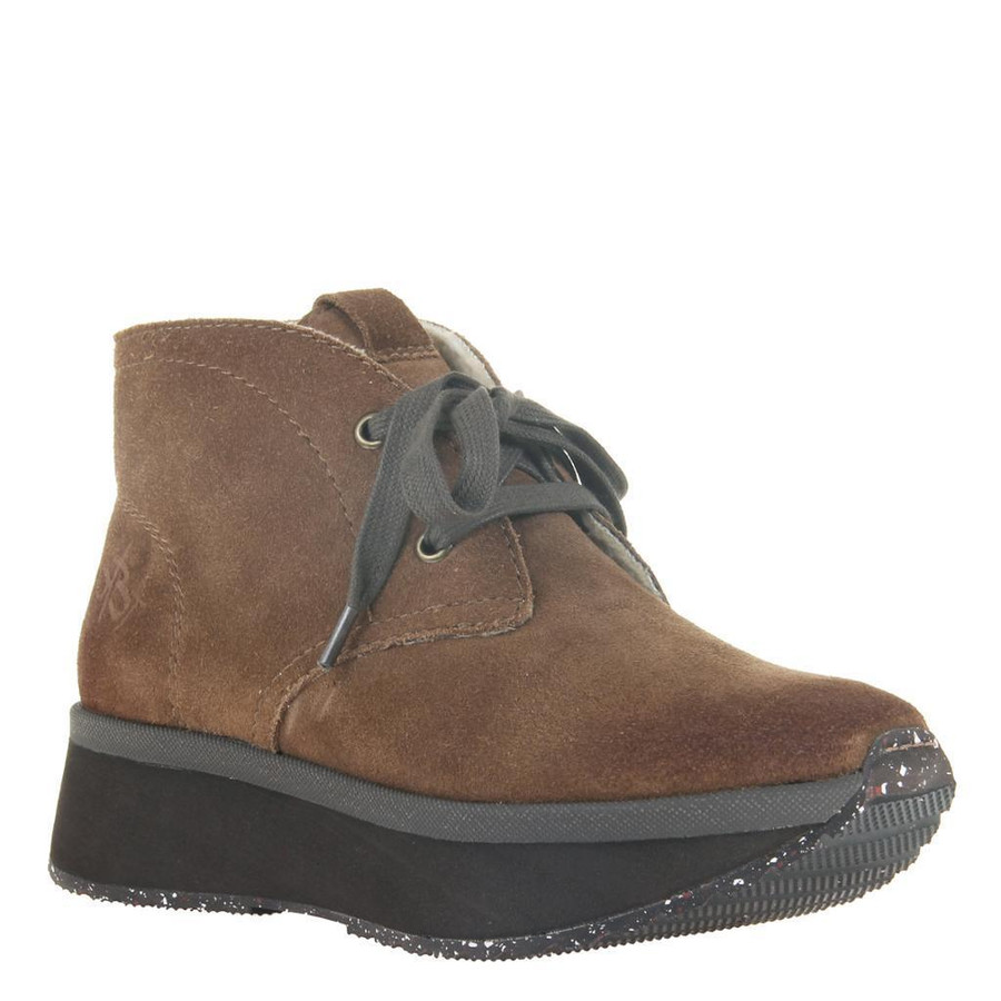 wedge bootie that's leather