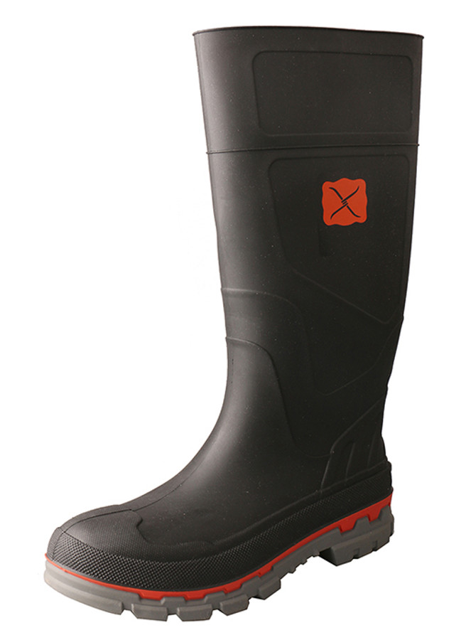 Steel Toe Rubber Mud Boot by Twisted X